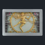"Hindu gods, Shiva Rectangular Belt Buckle<br><div class=""desc"">Hindu gods,  Shiva,  from the Singapore Chettiar Temple in central Singapore</div>"
