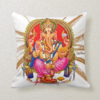 Hindu Lord Ganesha Throw Pillow