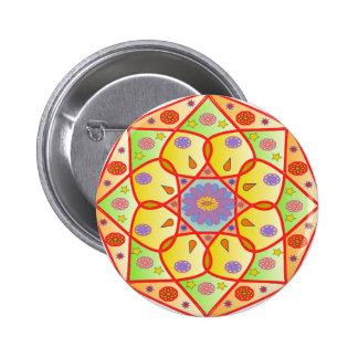 Hindu Mandala #2 Pinback Button
