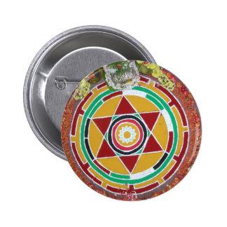 Hindu Mandala Button