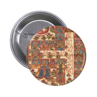 Hindu Mandala Pinback Button