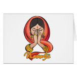 Hindu Namaste Card