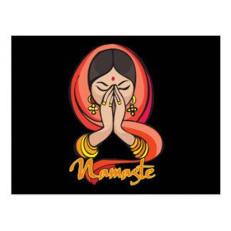Hindu Namaste Postcard