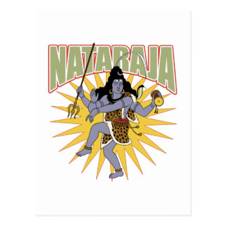 Hindu Nataraja Postcard