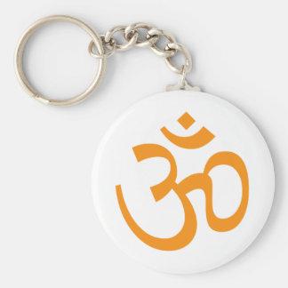 Hindu Om Keychain
