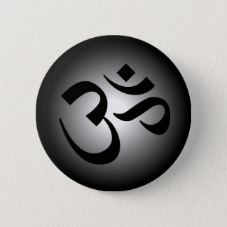 Hindu OM - Meditation Symbol Button
