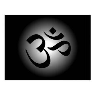 Hindu OM - Meditation Symbol Post Card