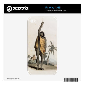 Hindu Priest, pub. by Edward Orme, 1804 (litho) Skin For iPhone 4