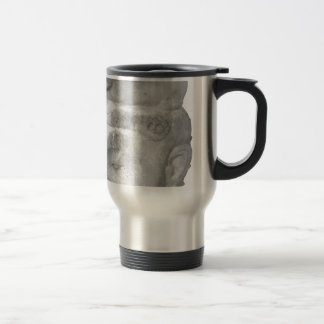 Hindu Sculpture Artifact Travel Mug