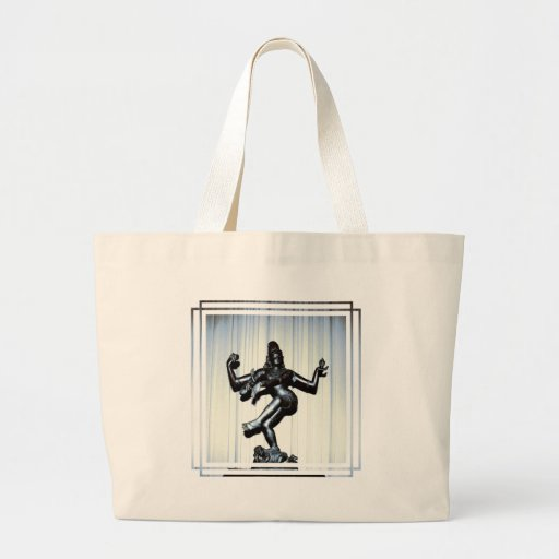 Hindu Shiva Canvas Bag