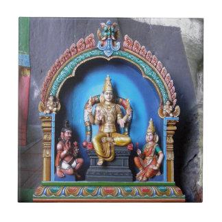 Hindu Shrine, Batu Caves Ceramic Tile