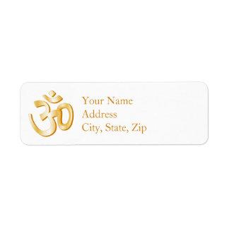 Hindu Symbol Label