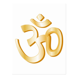 Hindu Symbol Postcard