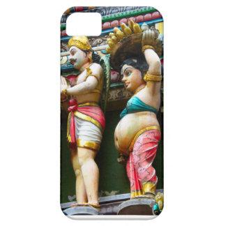 Hindu temple figures, Singapore iPhone 5 Cases