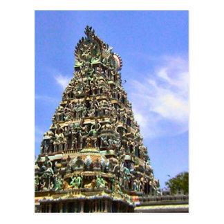 Hindu   temple, Gopuram Postcard