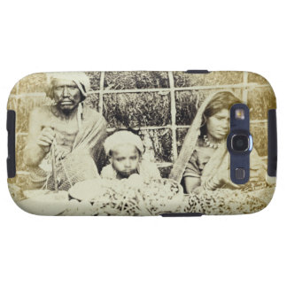 Hindu Vegetable and Fruit Sellers in Madras, 19th Samsung Galaxy SIII Cover