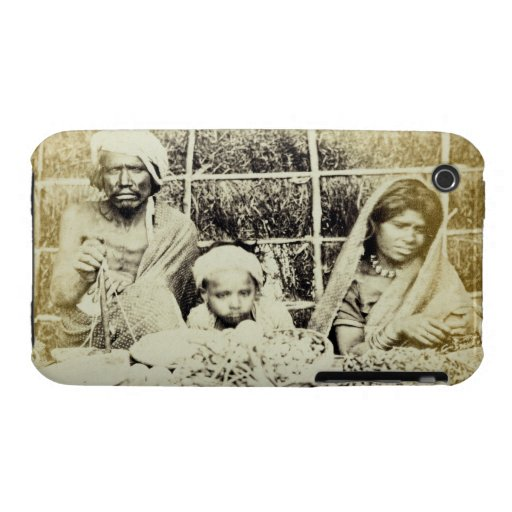 Hindu Vegetable and Fruit Sellers in Madras, 19th iPhone 3 Case-Mate Case