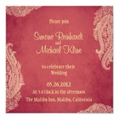 Hindu Wedding Invitation, Indian Mehndi