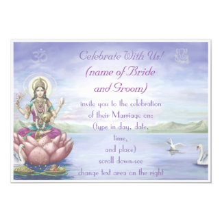 Hindu Wedding Invitations -customize