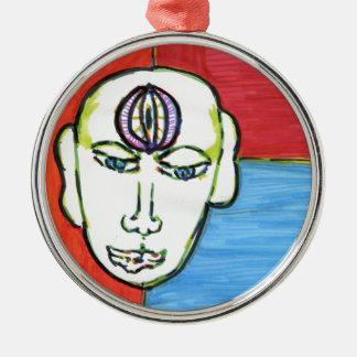 HinduAfricanusAmericanus Metal Ornament