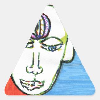 HinduAfricanusAmericanus Pegatinas De Triangulo