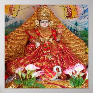 Hinduism de la diosa posters
