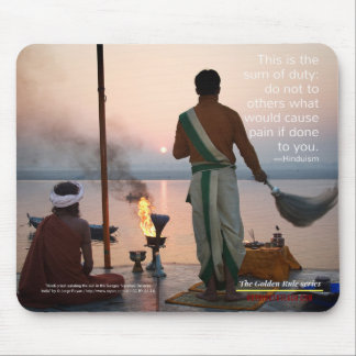 Hinduism: Golden Rule Series Mouse Pad