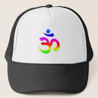 Hinduism (Ohm) Symbol Trucker Hat