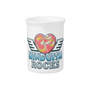 Hinduism Rocks Drink Pitchers