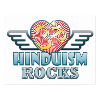 Hinduism Rocks Postcard