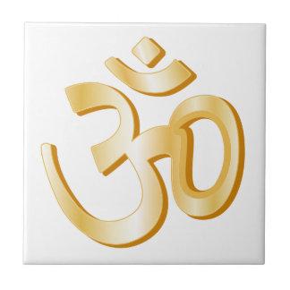 Hinduism Symbol Ceramic Tile
