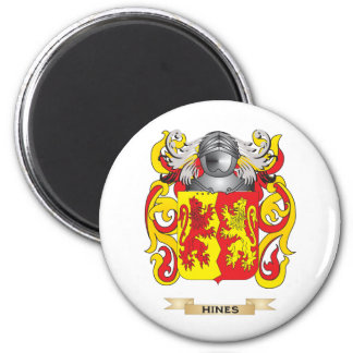 Hines Coat of Arms (Family Crest) Refrigerator Magnets