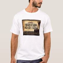 Hines Farm Blues Man T-Shirt