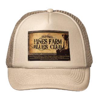 Hines Farm Blues Man Trucker Hat