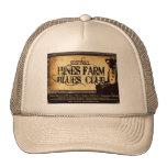Hines Farm Blues Man Trucker Hats