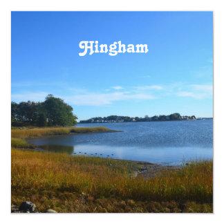 """Hingham Invitación 5.25"""" X 5.25"""""""