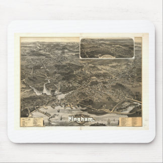 Hingham, Massachusetts in 1885 Mouse Pad