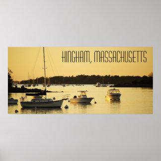 Hingham Massachusetts Poster