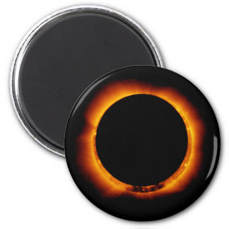 Hinode Observes an Annual Solar Eclipse 2 Inch Round Magnet