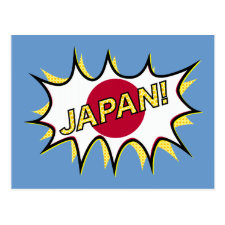 Hinomaru Starburst Flag Post Card