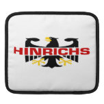 Hinrichs Surname Sleeves For iPads