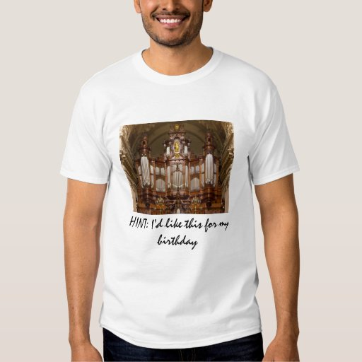 HINT: I'd like this for my birthday - Berlin Dom T-Shirt