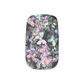 hint of butterfly Minx nails Minx ® Nail Art