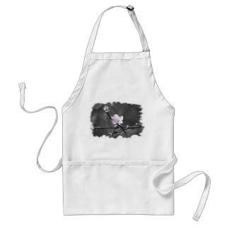 Hint of Pink Cherry Blossom Adult Apron
