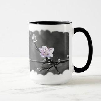 Hint of Pink Cherry Blossom Mug