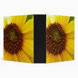 Hint Of Sunshine Sunflower Binder