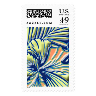 Hint of Tropical First Class Postage Stamp