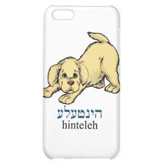 """Hinteleh""-puppy Cover For iPhone 5C"