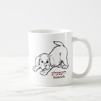 """Hinteleh""-puppy Mugs"