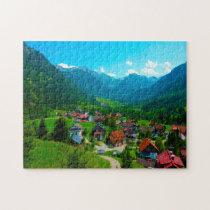 Hinterstein Germany. Jigsaw Puzzle